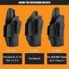 New.ซองปืนพกใน CYTAC Glock IWB Holster Fits Glock 17, 19, 23, 32, 43 Glcok 26, 27, 33 Glock 42 (Gen 1, 2, 3, 4) ล๊อคอัตโนมัติ ผลิตจากโพลิเมอร์เนื้อดี Product Line INSIDE THE WAISTBAND HOLSTER มีทั้งซองปืนพกในและพกนอก เป็นที่นิยมในอเมริกา ราคาพิเศษ