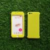 PC ประกบ360องศา+ฟิล์มกระจกสีเหลือง iphone6/6s