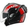 SHARK EVOLINE 3 DROP Black red white KRW/HE9357