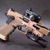 New.รางเสริม ALG Defense Glock Accessories 6-Second Optic Mount with Flared Magwell AFM For G17 / G18 สีดำ / สีทราย ราคาพิเศษ