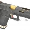 Glock17 T1 Gen4 สไลด์ดำ ท่อทอง เฟรมดำ WE