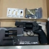 "New.ลูกโม่ .357 แม็กนั่ม WinGun Revolver Co2. Powored 708S 2.5"" ลูกเบอร์1 สีดำ"