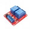 บอร์ด Relay 2 ช่อง relay 12v แบบ Active Hight 10A 250V สำหรับ Microcontroler และ MCS51