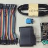 SET แสดงอุณหภูมิและความชื้นผ่านเน็ต NODE MCU V3 + สายจั้ม 10CM + DHT11 + Adapter 5 V+ USB FREE