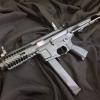 New.G&G CM16 ARP9 CQB AEG Carbine Airsoft Gun (Black) ราคาพิเศษ