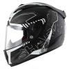 SHARK RACE-R PRO CINTAS Mat Black Anthrac Silver KGA/HE8686