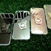 TPU โครเมี่ยมพร้อมแหวน iphone6/6s