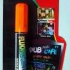 ปากกาชอล์ค เรืองแสง ขนาด 4.5 มม. สีส้ม