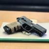 New.ด้ามยางกันลื่น สามารถใส่ด้ามปืนสั้นได้ทุกรุ่นครับ ราคาพิเศษ