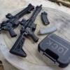 New.กล่องใส่ปืนสั้น โลโก้ GLOCK สีดำ สีทราย ราคาพิเศษ
