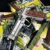 New.Cybergun TAURUS PT92 CO2 GBB (Hairline Silver) (Co2 full auto) ราคาพิเศษ