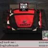 กระเป๋าคาดเอว สีดำ/แดง (ใส่ Ipad ได้/มีถุงคลุมกันฝน)