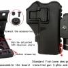 New.Hlhsportใหม่ยุทธวิธีอย่างรวดเร็วโหลดซอง360ปรับต่อต้าน-ได้อย่างรวดเร็วดึงชุดซองสำหรับ Glock / M92 / 1911 ราคาพิเศษ