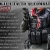 New.เสื้อเกราะ Tactical. มาพรัอมอุปกรณ์ใส่แม็กพร้อม สีดำ