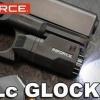 New.INFORCE APLC Made in USA ไฟฉายจิ๋วเเต่เเจ๋ว เกิดมาเพื่อปืนคอมเเพค -ให้ความสว่าง 200 lumens ที่เวลา 1.5 ชั่วโมง - โดยใช้ถ่าน CR2 ขนาด 3V เพียง 1 ก้อน - น้ำหนักเบามากเพียง 53.2 กรัม บางเพียง 3 ซม. เหมาะกับการพกซ่อนได้แนบลำตัวและความยาวเพียง 6.2 ซม. - มี