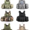 New.เสื้อเกราะยุทธวิธี กลางแจ้ง CS ทหารยุทธวิธีกองทัพเสื้อยืดล่าสัตว์600Dฟอร์ด Molle เสื้อกั๊กต่อสู้โจมตีจานC Arrier Vest ราคาพิเศษ