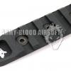 KAC URX 4 5-slot Rail Panel Keymod Five Slot Rail (BK)prev next