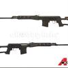 New.A&K SVD Dragunov สีดำ สไนเปอร์ชักยิง 450-470 fps ราคาพิเศษ