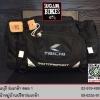 กระเป๋าคาดเอว สีดำ (ใส่ Ipad ได้/มีถุงคลุมกันฝน)