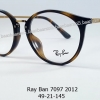 Rayban RB 7097 2012 โปรโมชั่น กรอบแว่นตาพร้อมเลนส์ HOYA ราคา 4,700 บาท