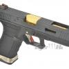 Glock18C T1 Gen4 สไลด์ดำ ท่อทอง เฟรมดำ WE
