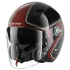 SHARK RSJ 3 SASSY Black Red Glitter KRX/HE7455