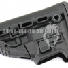 Fab Defense GL-MAG M4 'Survival' Buttstock with 'Built-in' Mag Carrier (BK)