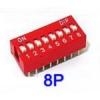 DIP switch 8P