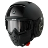 SHARK RAW DUAL BLACK Black HE3040EBLK