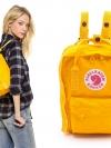 กระเป๋า Fjallraven Kanken Mini สีเหลืองสดใส Warm Yellow พร้อมส่ง
