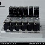Soleniod Valve SFC Model:4V110-06+ฐาน (สินค้ามือสอง)