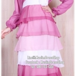 ☆ ✧ Colourful Layered Chiffon Dress✧ ☆Pastel Pink