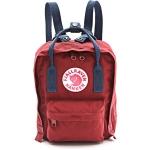 กระเป๋า Fjallraven Kanken Mini สีแดงหูน้ำเงิน Oxred & Royal blue พร้อมส่ง
