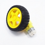Smart car motor + wheels