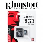 Micro SD Kington 8GB Class4