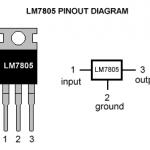 7805 Voltage Regulator IC 5V 1.5A TO-220