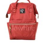 กระเป๋า Anello ขนาด mini สีส้ม Dark orange ของแท้ นำเข้าจากญี่ปุ่น พร้อมส่ง