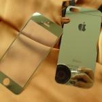 ฟิล์มกระจกสี iphone4/4s