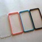 TPU ใสขอบสี iphone7 plus/iphone8 plus(ใช้เคสตัวเดียวกัน)