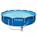 สระว่ายนำ้สำเร็จรูป Intex วงกลม 305*76cm แถมเครื่องกรอง