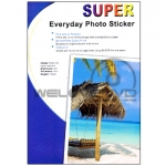 Super Photo Sticker 130 Gsm. A4/100 Sheets ฿310.00
