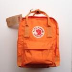 กระเป๋า Fjallraven Kanken Mini สีส้มสด Burnt orange พร้อมส่ง