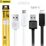 สายชาร์จ REMAX - FAST Type-C Fast Data Cable USB 3.0 (ของแท้)