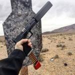 New.ที่เก็บเสียงปืนสั้น Glock ราคาพิเศษ