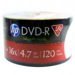 HP DVD-R 16X Printable (50 pcs/Plastic Wrap)