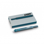 Lamy ink cartridges Petrol 5 pieces T10