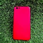 TPU Red Oppo R9S plus/R9S Pro(ใช้เคสตัวเดียวกัน)