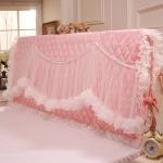 Pre-Order ผ้าคลุมหัวเตียงเจ้าหญิง สีชมพู