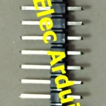 40 Pin 2.54mm Pin Header Double Row Pin Male