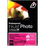 I.J. Photo Glossy Paper 260 Gsm. Professional (4X6) (4X6/100 Sheets)